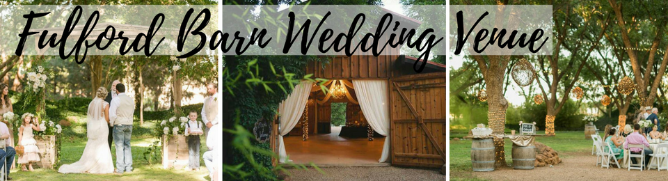 Fulford Barn Wedding Venue In Brownfield Tx
